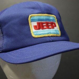 4d2924afcf92f Accessories - Jeep Mesh Trucker Hat Cap Patch Snapback Retro